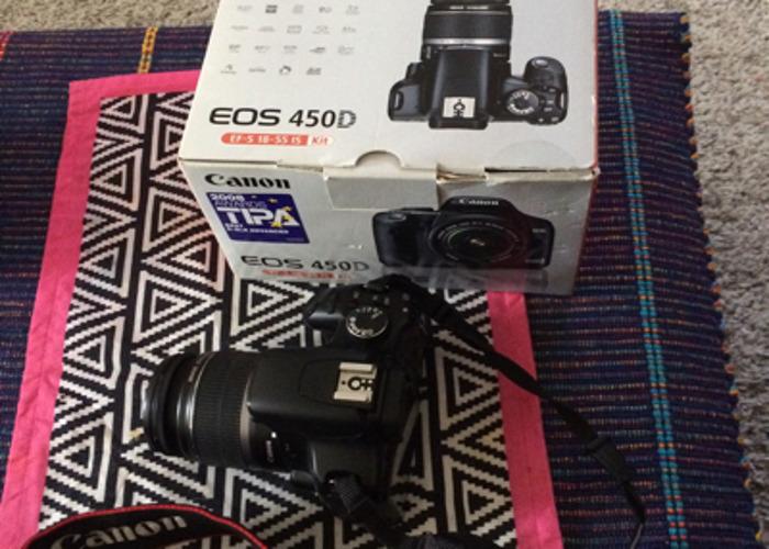 Canon Camera EOS 450D  - 1