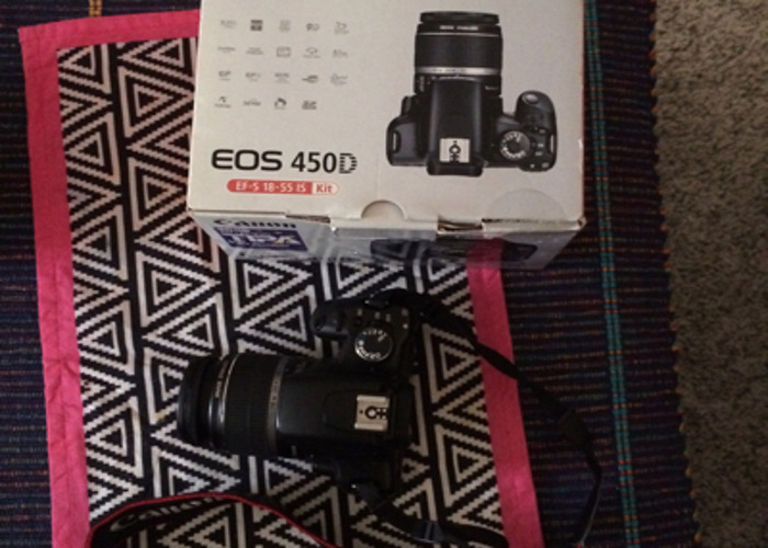 Canon Camera EOS 450D  - 2