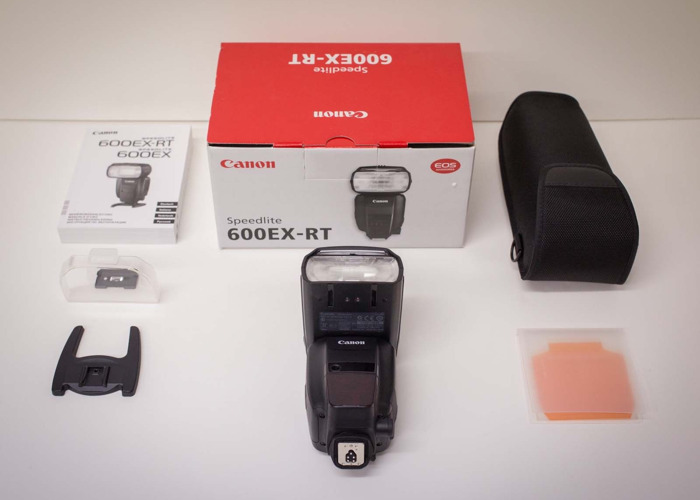 Canon Camera Speedlite 600EX-RT  - 1