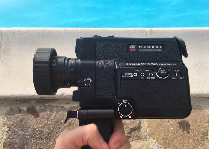 Canon Canosound 514XL-S Super 8 Camera - 1