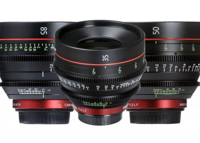 Canon CN-E 35,50 & 85 - 1