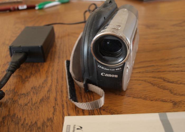 Canon DC-410 Camcorder - 2