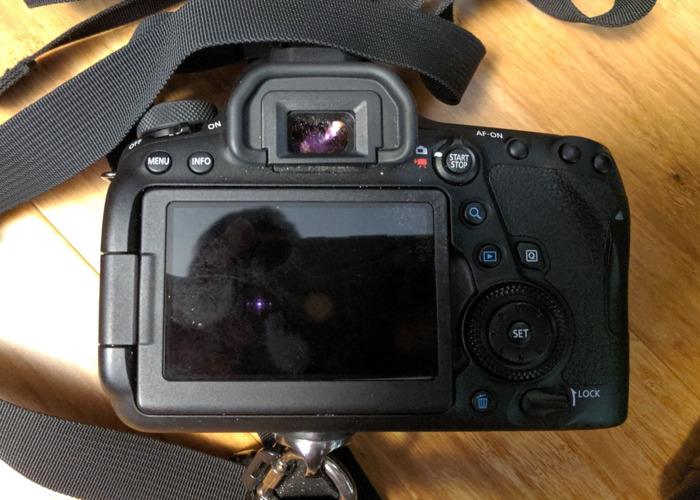 Canon DSLR 6d Mark II Mk II Camera Body - 2