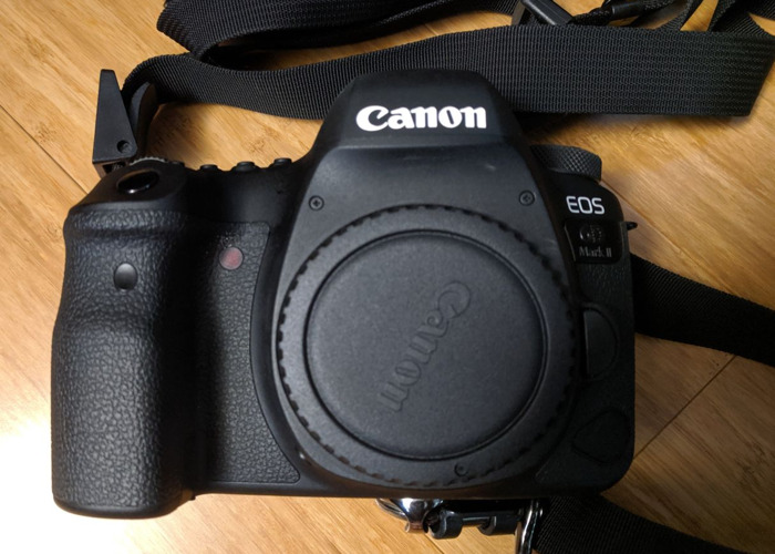 Canon DSLR 6d Mark II Mk II Camera Body - 1