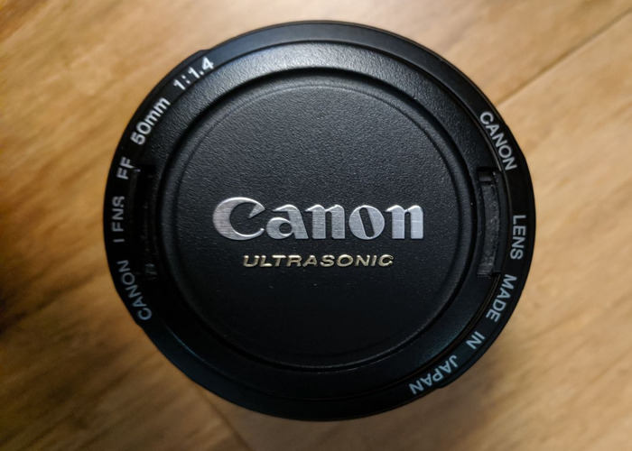 Canon DSLR Camera 50MM F1.4 LENS - 2