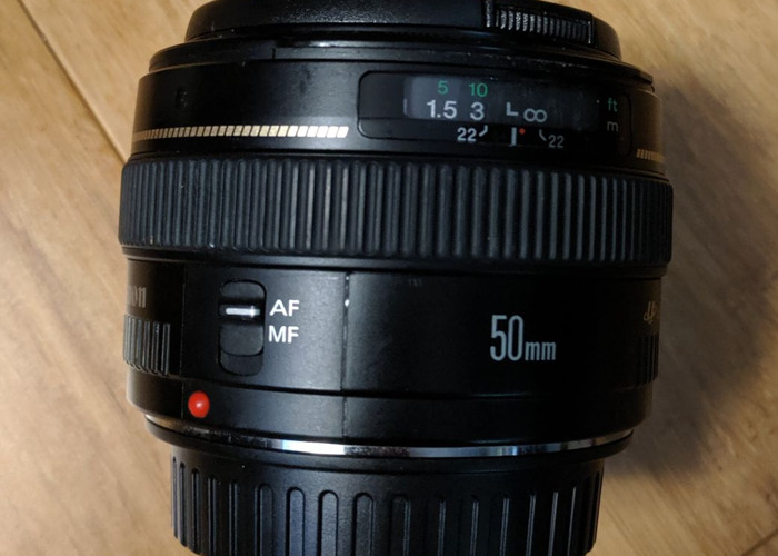 Canon DSLR Camera 50MM F1.4 LENS - 1