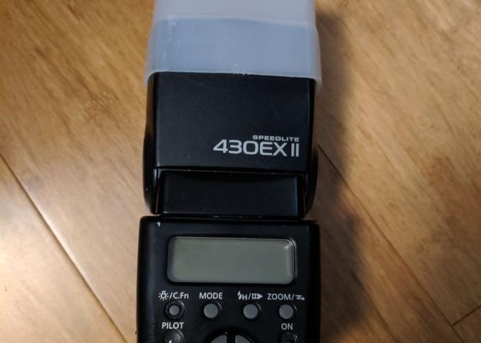 Canon DSLR Camera Flash Speedlite 430EX II - 1