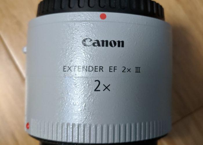 Canon DSLR Camera Lens Extender EF 2X III - 1