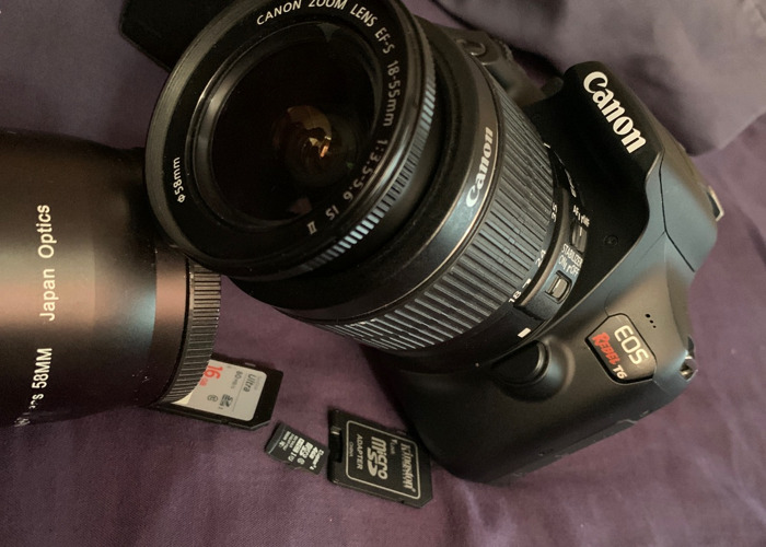 Canon E05 Rebel t6 - 2