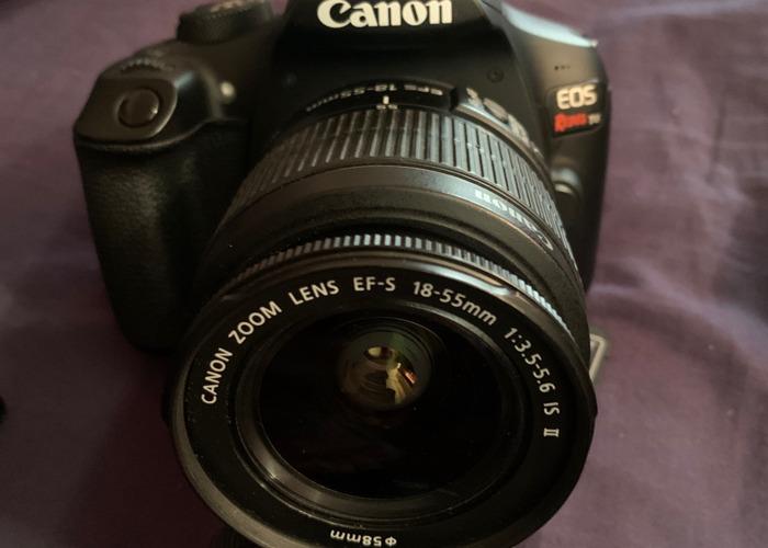 Canon E05 Rebel t6 - 1