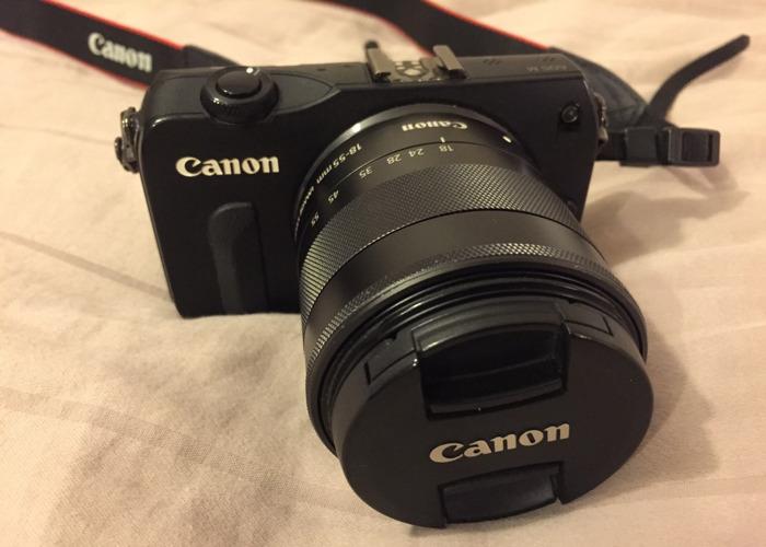 Canon E0S M  Digital Camera with 18-55 mm Lens - 1