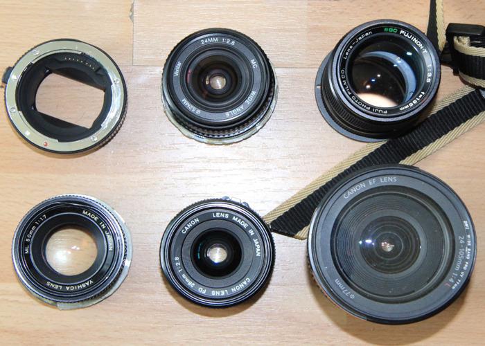 Canon EF / Sony E Mount Set of Prime Zoom Lenses - 2