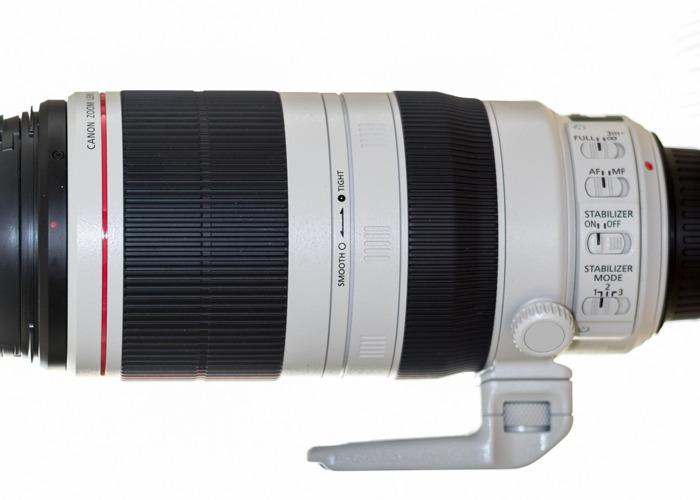 Canon EF 100-400 mm f / 4,5-5,6 L IS II USM Lens - 2