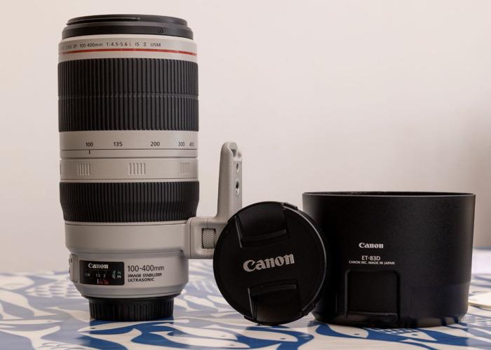 Canon EF 100-400mm f4.5-5.6 L IS II USM Lens - 1