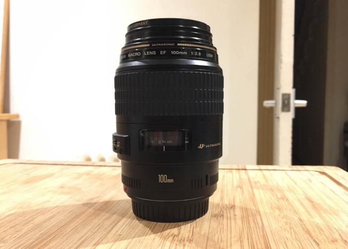 Canon EF 100mm 2.8 Macro Lens - 2