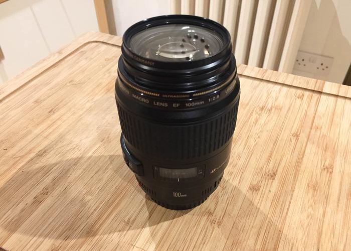Canon EF 100mm 2.8 Macro Lens - 1