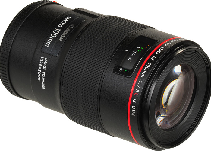 Canon EF 100mm 2.8L IS USM Macro Lens - 1