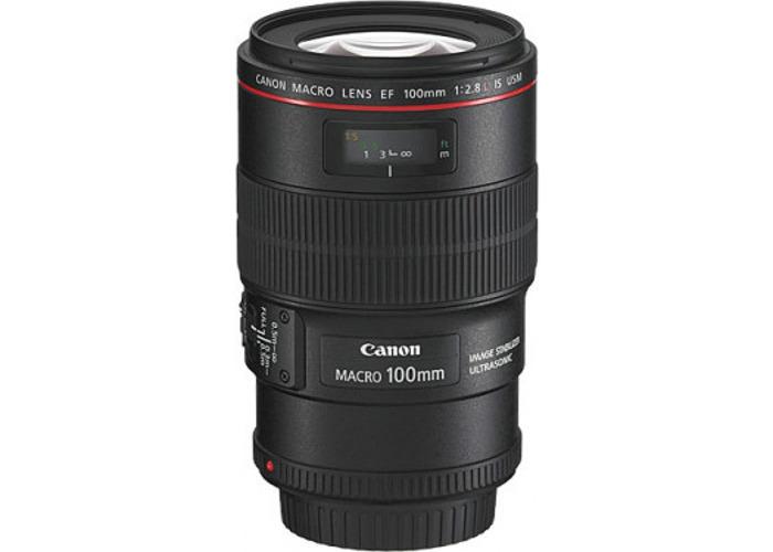 Canon EF 100mm 2.8L IS USM Macro Lens - 2