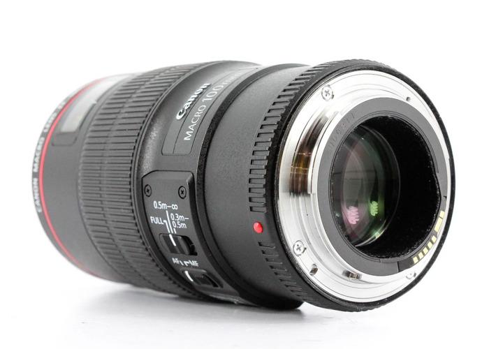 Canon EF 100mm f2.8 L IS USM Macro DSLR Lens - 2
