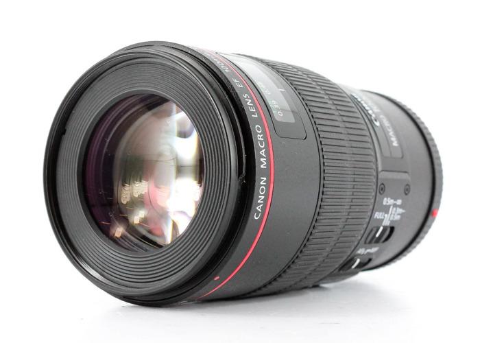Canon EF 100mm f2.8 L IS USM Macro DSLR Lens - 1
