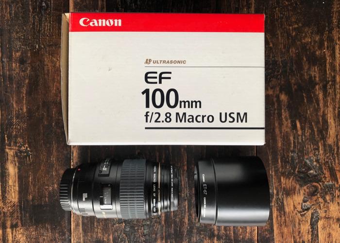 Canon EF 100mm f2.8 Macro  - 1