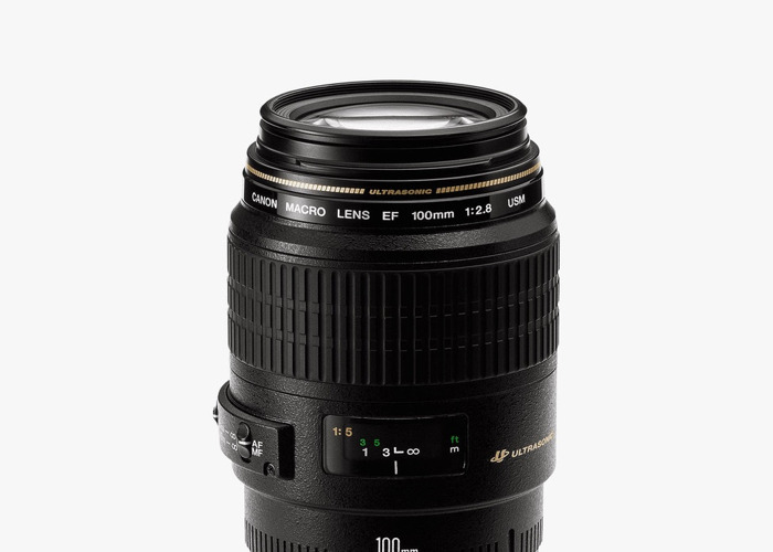 Canon EF 100mm f/2.8 USM Macro Lens - 1