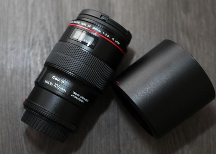 Canon EF 100mm f/2.8L Macro IS USM + Hoya Filter - 2