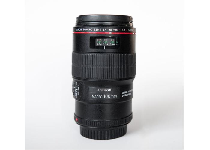 Canon EF 100mm f2.8L Macro IS USM Lens - 1