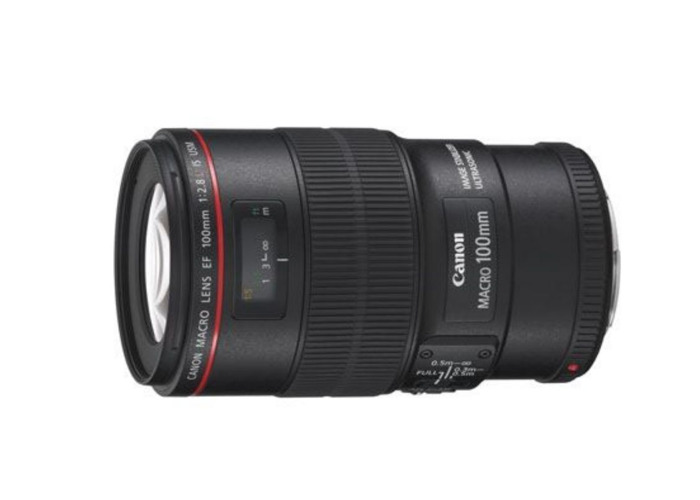 Canon EF 100 mm f/2.8L Macro IS USM Lens - 1