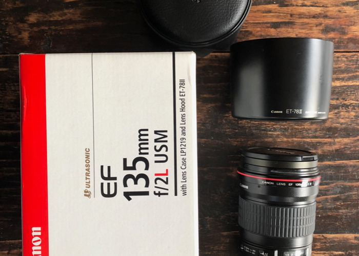 Rent Canon EF 135 f2 L in London