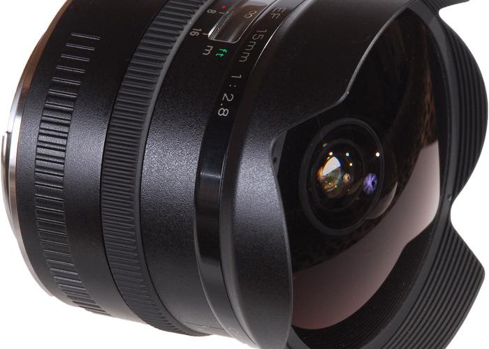 Canon EF 15mm f/2.8 Fisheye - 2