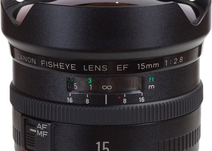 Canon EF 15mm f/2.8 Fisheye - 1