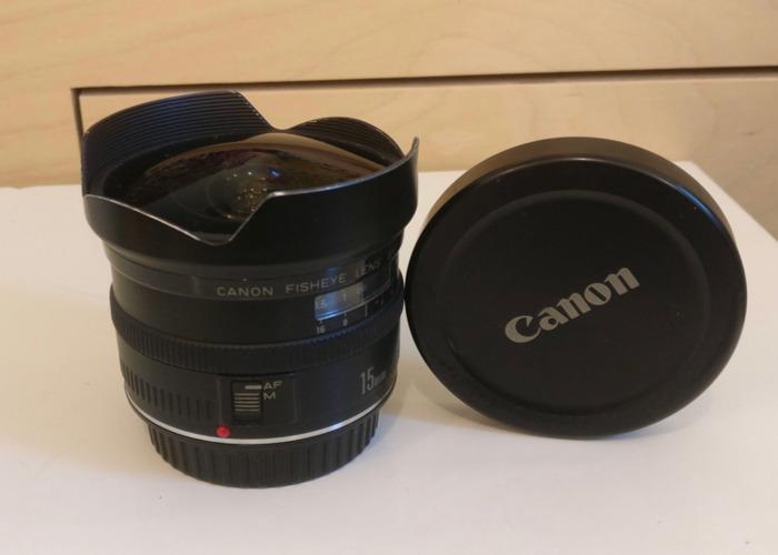 Canon EF 15mm f/2.8 Fisheye Lens - 1