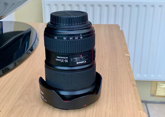 Canon EF 16-35mm f/2.8L III USM Len - 1
