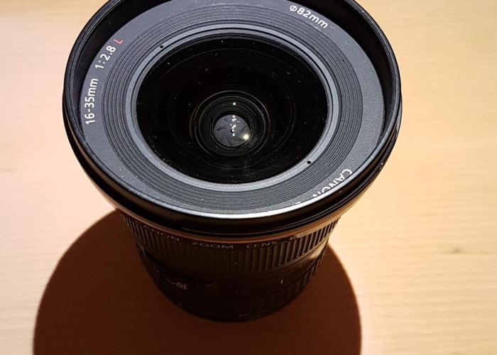 Canon EF 16-35mm f/2.8L Lens - 1
