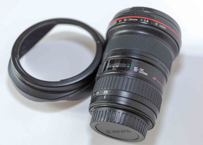 Canon EF 16-35mm L II USM Lens - 1