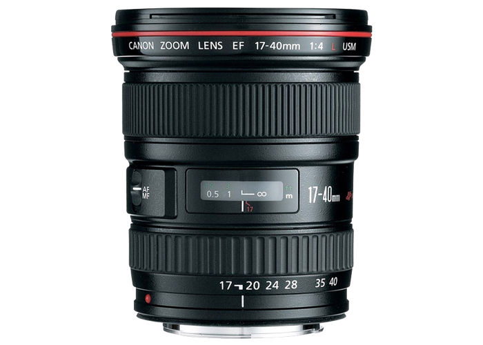 Canon EF 17-40mm f4L USM Lens - 1