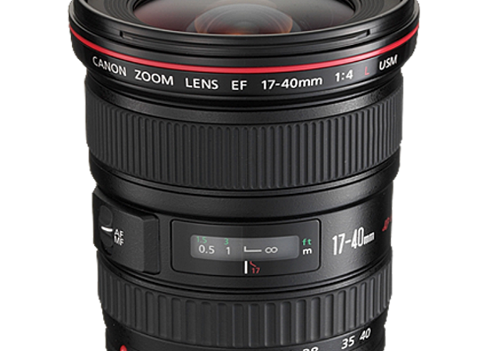 Canon EF 17-40mm lens - 1