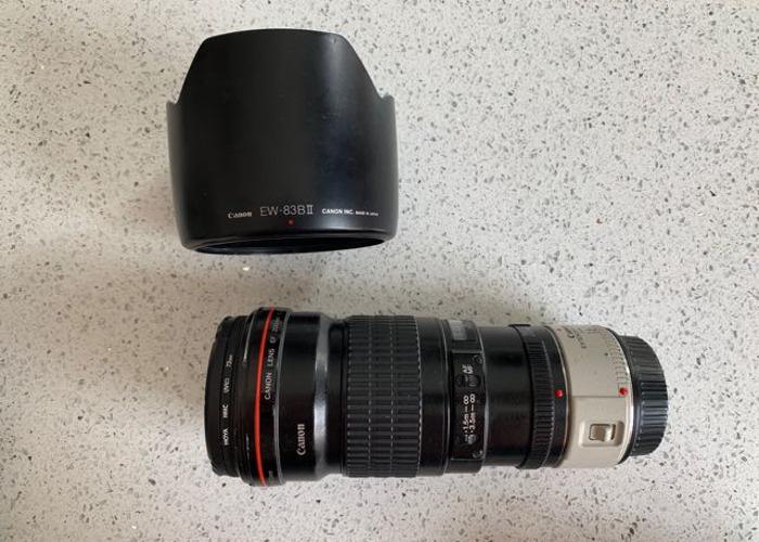 Canon ef 200mm f2.8 l usm lens & 1.4 extender  - 2