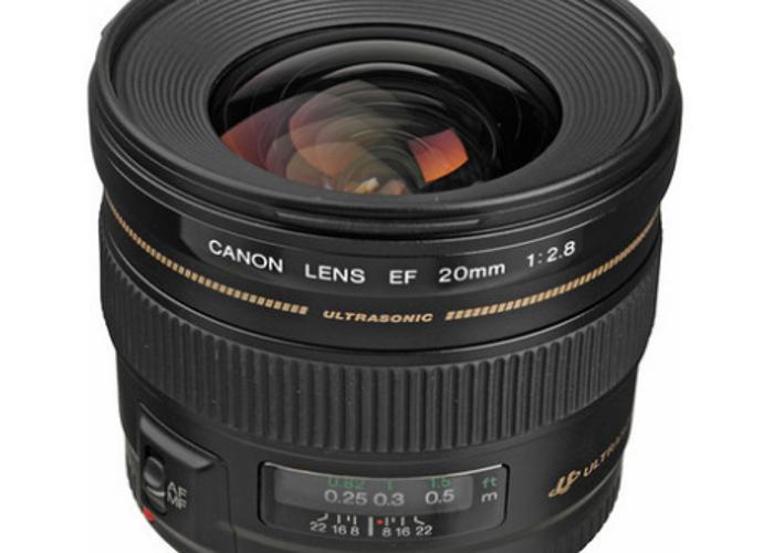 Canon EF 20mm f/2.8 USM Lens - 1