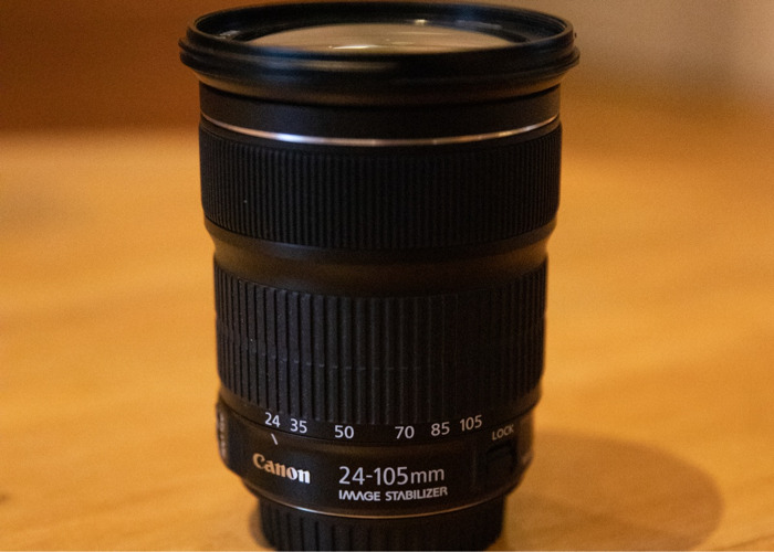 Canon EF 24-105 f3.5 L IS USM Lens in excellent condition - 1