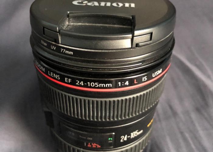 Canon EF 24-105 F/4 Usm Lens  - 2