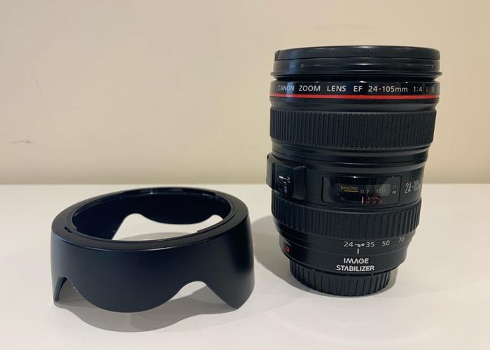 Canon EF 24-105mm F/4 L IS USM Lens - 1