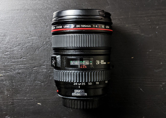 Canon EF 24-105mm f4.0 L IS USM - 1