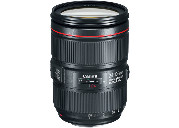 Canon EF 24-105mm f/4L IS II USM Lens - 1