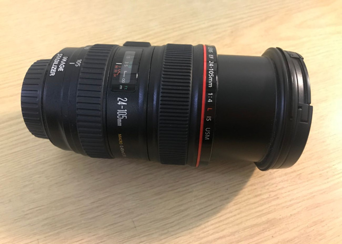 Includes: Canon L-series 24-105mm F/4 L IS USM - 2