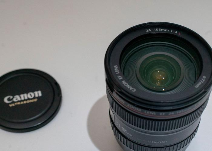 Canon EF 24-105mm f/4L IS USM Lens - 1