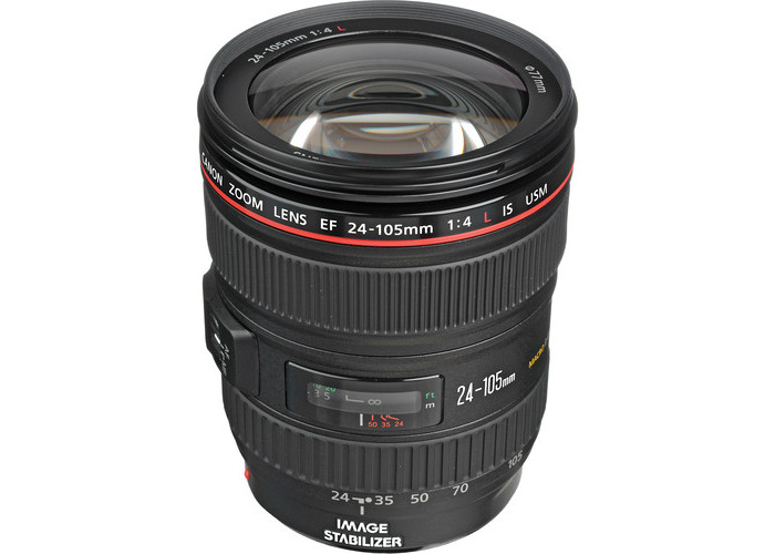 Canon EF 24-105mm f/4L IS USM Lens (White Box) - 1