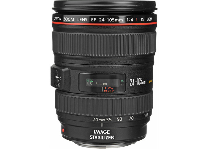 Canon EF 24-105mm f/4L IS USM Lens (White Box) - 2