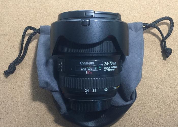 Canon EF 24-70mm 1:4 L IS USM (EW-83L) Lens - 2